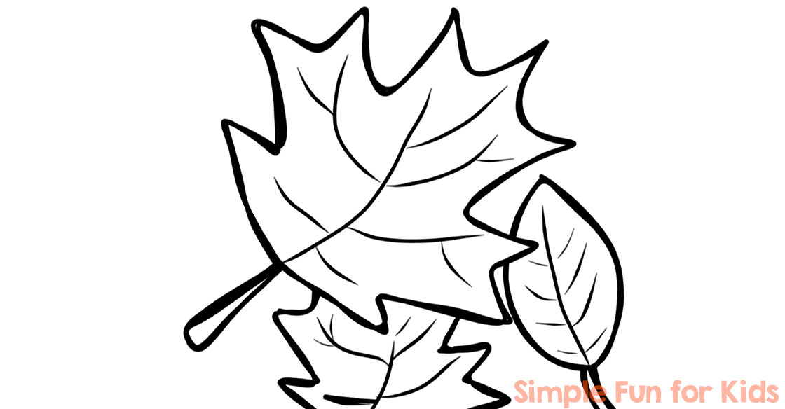 fall coloring pages printable simple fun for kids vip - Fall Coloring Page