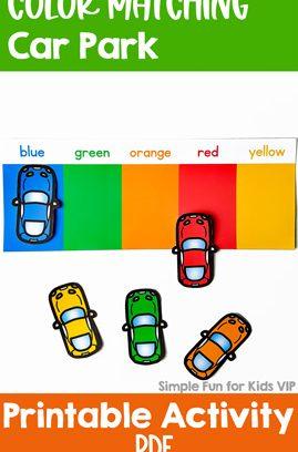 Color Matching Car Park