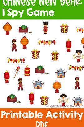 Chinese New Year I Spy Game
