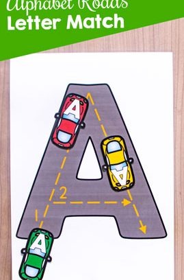 Alphabet Roads Letter Match