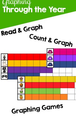 Graphing Through the Year Printable Pack