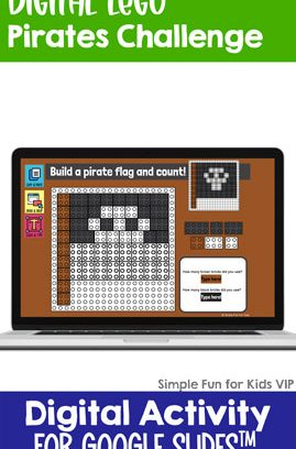 Digital LEGO Pirates Build and Count Challenge