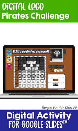 Ten fun and engaging EDITABLE pirates-themed digital LEGO challenges for distance learning with Google Slides and Google Classroom. Students can practice skills such as copying & pasting, dragging & dropping, typing in text boxes, and counting in a super-engaging way.