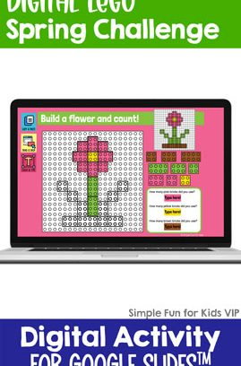 Digital LEGO Spring Build and Count Challenge