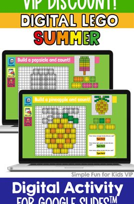 Digital LEGO Summer Build and Count Challenge