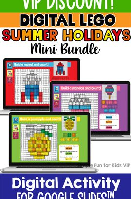 Digital LEGO Summer Holiday Build and Count Mini Bundle