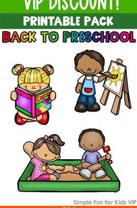 Back to Preschool Printable Pack